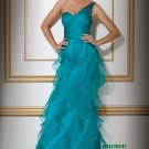 One Shoulder Evening Dresses Prom Party Formal Gowns J22