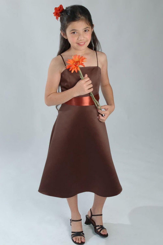 Custom made flower girl dress W001