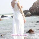 Sheath/Column V-neck Long Chiffon Evening Dresses Prom Party Formal Bridal GownsP010