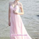 Elegant A-line Chiffon Floor-length Evening Dresses Prom Party Formal Bridal Gowns P038