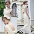 Elegant A-line Sweetheart Long Evening Dresses Prom Party Formal Bridal GownsP057