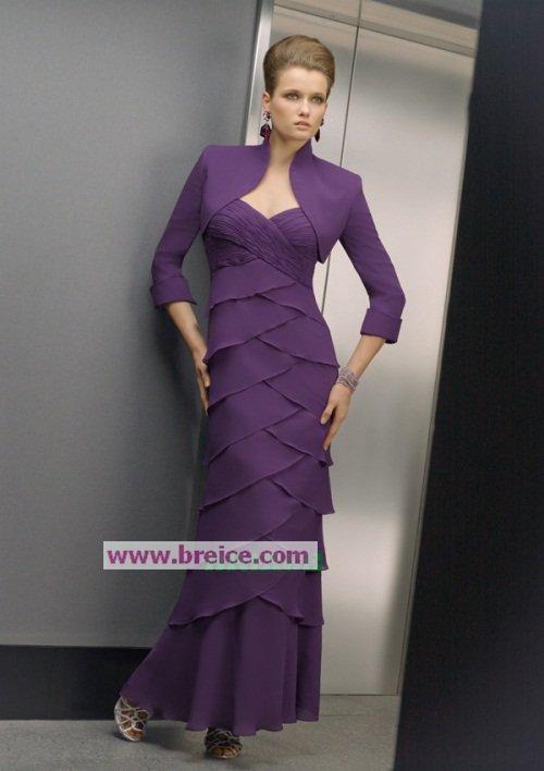 Custom Made Mother of The Bride Dresses Wedding Guest Dress M034