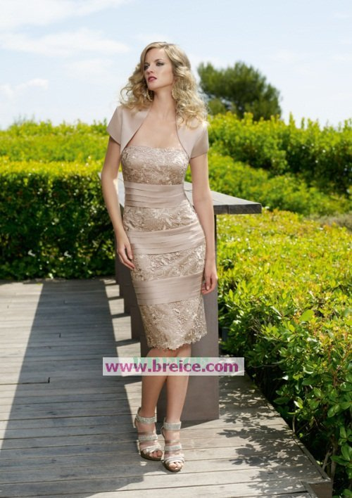 Custom Made Mother of The Bride Dresses Wedding Guest Dress M020