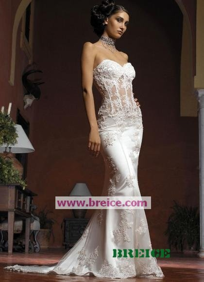 Sexy White Long Evening Dresses Prom Formal Gowns 18