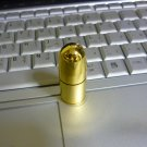 4GB COOL GOLDEN BULLET Flash Memory Stick Thumb Drive