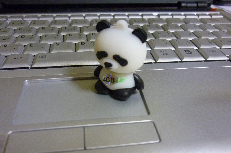 4GB CUTE PANDA Flash Memory Stick Thumb Drive