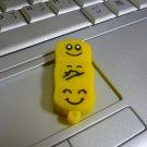 4GB CUTE YELLOW FACES Flash Memory Stick Thumb Drive