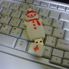 4GB CUTE SNOWMAN Flash Memory Stick Thumb Drive