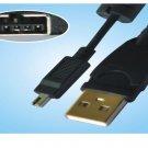 Fuji FinePix A101 A200 A201 A202 A203 A204 A303 A401 4P USB Cable