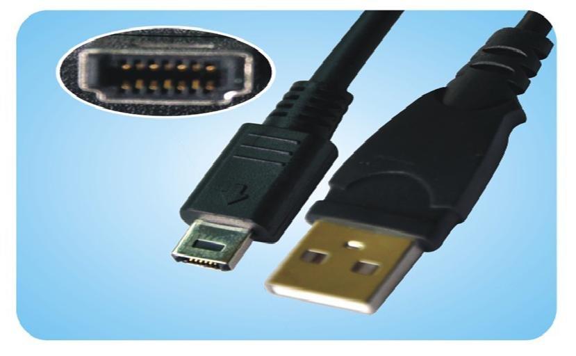 FujiFILM F401 F402 F410 F420 F440 F450 F455 F460 F470 14P USB Cable