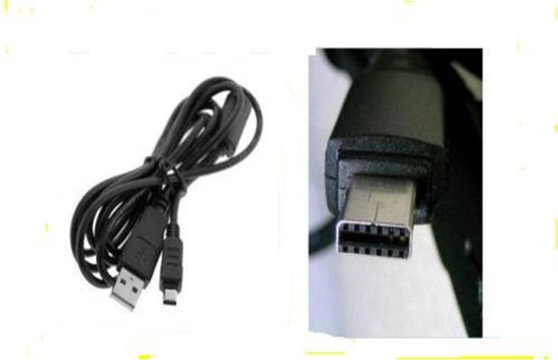 Casio Exilim EX-Z550 EX-FH100 EX-H15 EX-G1 USB Cable