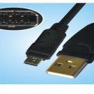 Olympus FE-120 FE-130 FE-140 FE-200 FE-5500 12P USB Cable