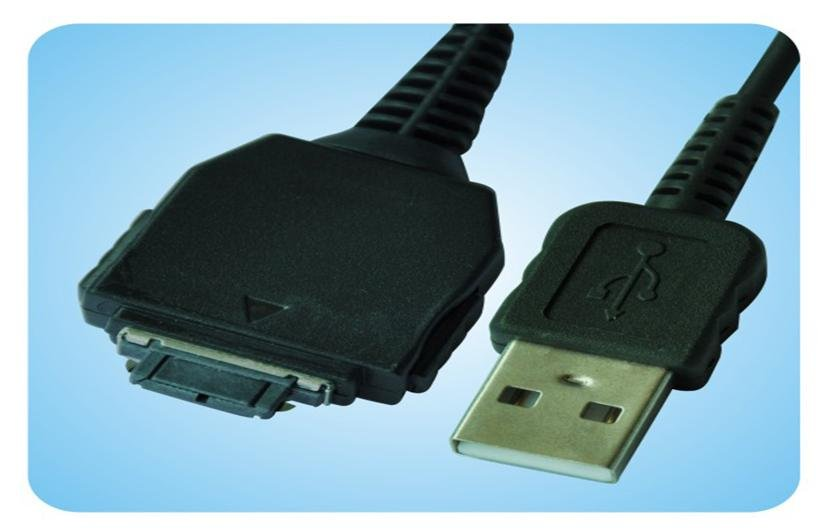 Sony DSC-W55 W55B W55L W55P W55BDL DSC-H78 H9B H7 H9 H3 H10 H50 USB Cable black