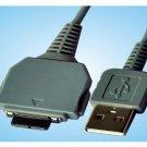 Sony DSC-T2/B DSC-T3 DSC-T5 DSC-T9 DSC-T10 DSC-T11 DSC-T20 DSC-T20/B DSC-W130/P USB Cable grey