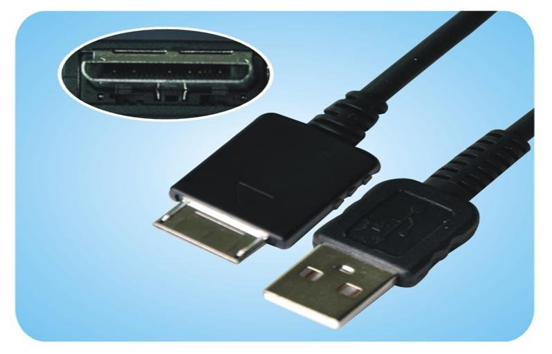 Sony NWZ-A726 NWZ-A728 NWZ-A729 NWZ-A815 NWZ-A816 NWZ-A818 NWZ-A820 NWZ-A826 MP3 USB Cable