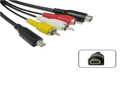 Sony vmc-15fs AV camera Cable DCR-DVD605E DCR-DVD602E DCR-DVD505 DCR-DVD405 DCR-DVD403