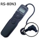 Timer Remote RS-80N3 for Canon EOS 1Ds Mark III 5D 5D Mark II 7D 10D 20D 30D 40D 50D D30 D60
