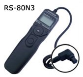 Timer Remote RS-80N3 for Canon EOS 1D 1D Mark II 1D Mark II N 1D Mark III 1Ds 1Ds Mark II