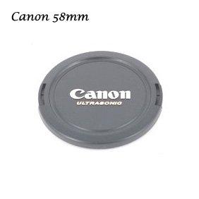 58mm lens cap for Canon 500D 550D 600D 60D 18-55