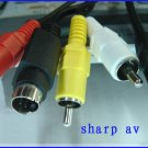 Sharp VL-Z1 AV Cable