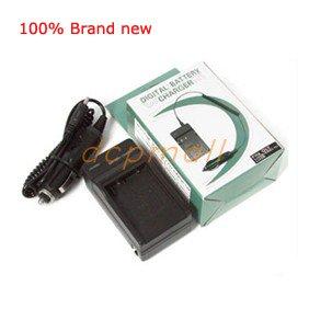 Battery Charger CGA-S002E/1B DMW-BM7 for Panasonic Lumix DMC-FZ