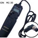 Nikon D200 D300 D700 D100 Timer Remote Cord MC-30