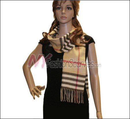 Classic Cashmere Feel Scarf <br>NY66-02
