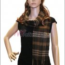 Plaid Cashmere Feel Scarf <br>NY20-02