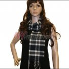 Plaid Cashmere Feel Scarf <br>NY33-01
