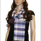 Plaid Cashmere Feel Scarf <br>NY34-01