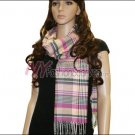 Plaid Cashmere Feel Scarf <br>NY34-02