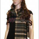 Plaid Cashmere Feel Scarf <br>NY34-09