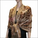 Small Paisley Pashmina <br>Brown