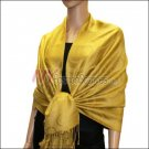Multi Circle Soft Pashmina <br>Goldenrod