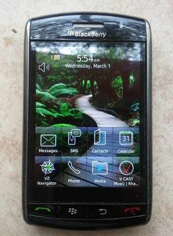 Blackberry STORM 9530 UNLOCKED GSM PHONE AT&T T-MOBILE