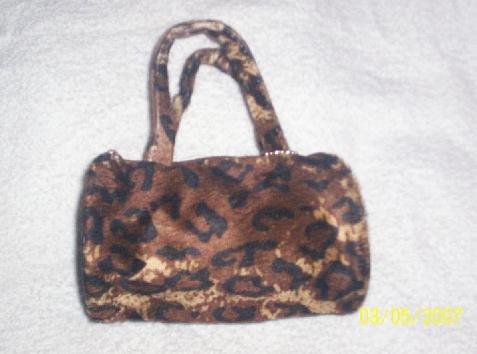Roll Bag - Animal Print