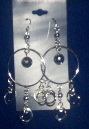 Fashion Earring - Silver