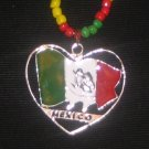 MEXICO Boy w/ Flag Beaded 20 ""