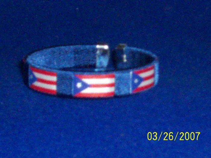 Puerto Rico - Flag Bangle - Blue