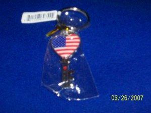 USA Flag - Key Chain - Key
