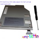 2nd SATA Hard Drive SSD Caddy adapter for Dell Latitude D600 D610 D620 D630