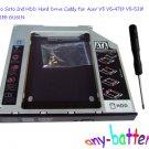 Sata to Sata 2nd HDD Hard Drive Caddy for Acer V5 V5-471P V5-531P V5-571PG GU61N