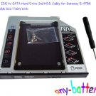 Pata IDE to SATA Hard Drive 2nd HDD Caddy for Gateway E-475M E-265M GCC-T10N DVD