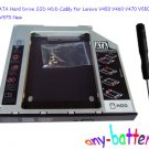 2nd SATA Hard Drive SSD HDD Caddy for Lenovo V450 V460 V470 V550 V560 V570 New