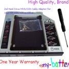 2nd Hard Drive HDD/SSD Caddy Adapter For Asus K55 K55v K55vm K55vd