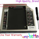 New 9.5mm SATA 2nd HDD SSD Hard Drive caddy for Dell Latitude E6540 UJ8B2 GU60N