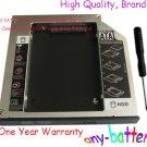 2nd SATA Hard Drive HDD Caddy Bay For HP Compaq 8510p 8510w Swap GSA-T40L dvd