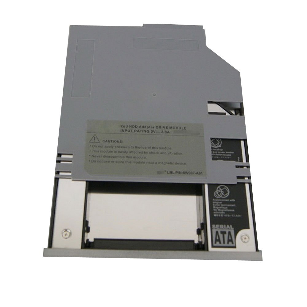 2nd hard drive HDD caddy Bay For Dell D620 D630 D600 D610 Swap CD/DVD Drive NEW