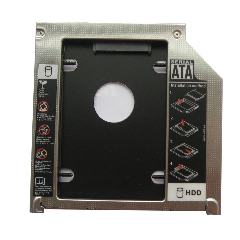 "2nd 9.5mm SATA HDD SSD Hard Drive Caddy Bay for MacBook Pro 13"" 15"" 17"" Unibody"