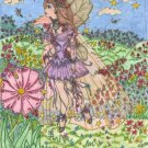 Handmade Colored Pencil Fairy Artwork